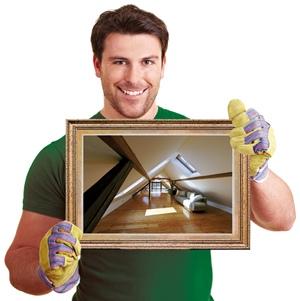 Dachbodenausbau1